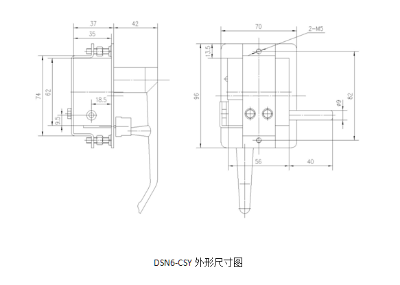电磁锁的电气电源来自高压开关设备内电压
